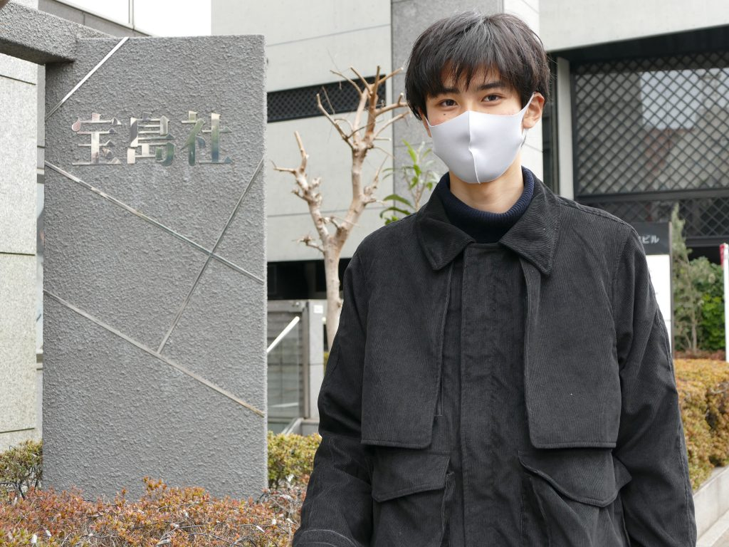 WES在校生が男性人気ファッション誌『smart』の撮影に参加!