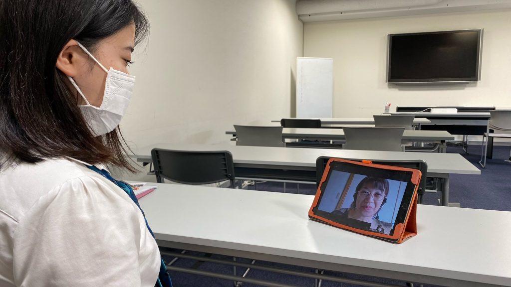 【渡辺高等学院東京校】オンライン海外留学体験!
